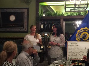 Amy Koch of Civitan and Jill Haag of Southern Reins